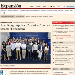 Juan Roig impulsa 32 'start up' con su tercera 'Lanzadera'