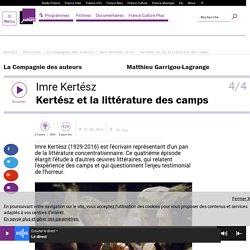 Imre Kertész (4/4) : Kertész et la littérature des camps