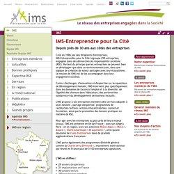 IMS-Entreprendre pour la Cité