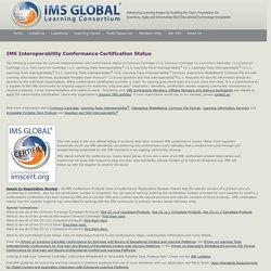 CC/LTI Conformance Directory