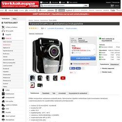 Transcend DrivePro 220 -autokamera ja imukuppiteline