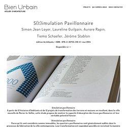 S(t)imulation Pavillonnaire-2O11-2014 - Bien Urbain