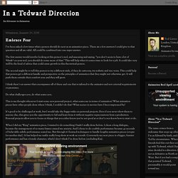 In a Tedward Direction