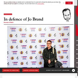 In defence of Jo Brand