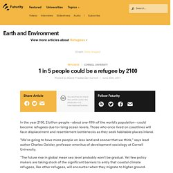 1 in 5 People Climate Migrants