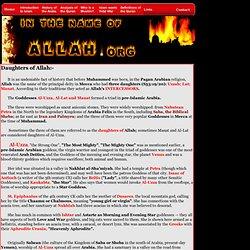 Satanic Qur'anic Verses - The 3 Daughters of Allah