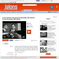 L'ouverture du procès Stavisky devant la Cour d'assises de Paris 1936