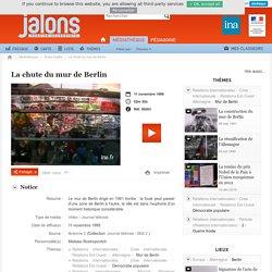 Jalons - La chute du mur de Berlin