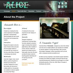 Inanimate Alice - About the Project