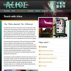 Inanimate Alice - Teach with Alice