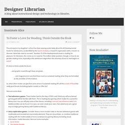 Inanimate Alice – Designer Librarian