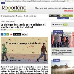 Le dialogue inattendu entre policiers et manifestants de Nuit debout