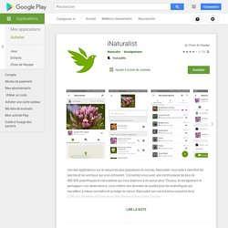 iNaturalist – Android-appar på Google Play
