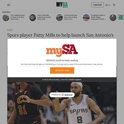 Spurs player Patty Mills to help launch San Antonio's inaugural domestic violence symposium