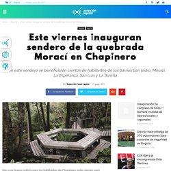 Este viernes inauguran sendero de la quebrada Morací en Chapinero - Conexión Capital