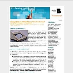 Inauguration de la Bibliobox à l'espace numérique de la Part-Dieu avec Framasoft