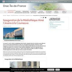 Inauguration de la Médiathèque Aimé Césaire à la Courneuve - Drac Île-de-France