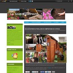 Inauguration du pavillon de compostage du Coteau - Le blog du compostage en immeuble à la Résidence de la Source