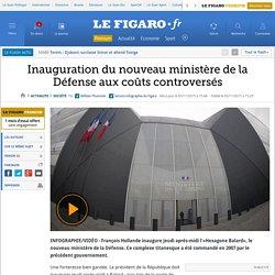 Inauguration du nouveau ministère de la Défense aux coûts controversés