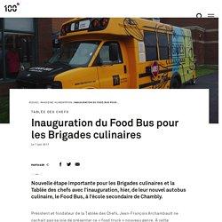 Inauguration du Food Bus pour les Brigades culinaires
