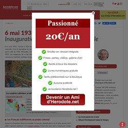 6 mai 1931 - Inauguration de l'Exposition coloniale