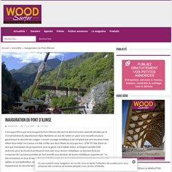 Inauguration du Pont d'Ilonse - Woodsurfer