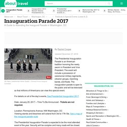 Inauguration Parade 2017 in Washington, DC