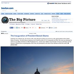 The Inauguration of President Barack Obama - The Big Picture - B