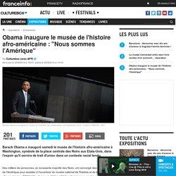 Obama inaugure le 1er musée de l'histoire afro-américaine -25/09/16