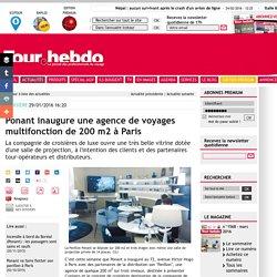 Ponant inaugure une agence de voyages multifonction de 200 m2 à Paris