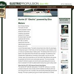 Electric Inboard Boat Motors