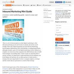Inbound Marketing Mini Guide
