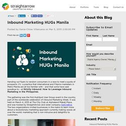 Inbound Marketing HUGs Manila