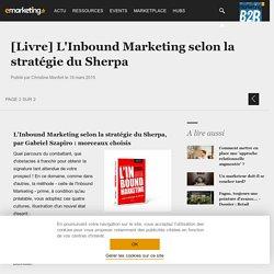[Livre] L'Inbound Marketing selon la stratégie du Sherpa