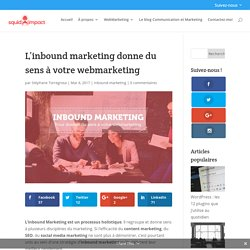 L'inbound marketing donne du sens à votre webmarketing