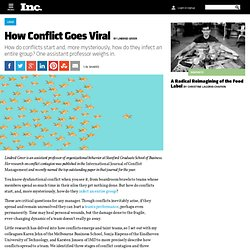 How Conflicts go Viral