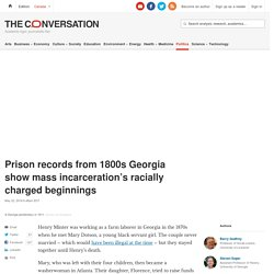 Prison records show mass incarceration's racially charged beginnings 2x