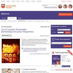 Les 11 causes d'incendie domestique les plus fréquentes
