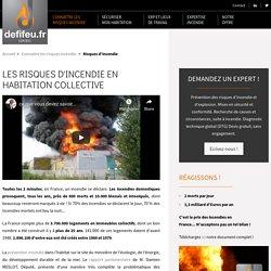 Incendie habitation collective : risque & sécurité incendie – Defifeu