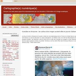Incendies en Amazonie : les cartes et les images auraient-elles le pouvoir d'attiser la polémique ?