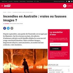 Incendies en Australie : vraies ou fausses images?