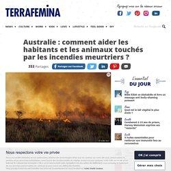 Incendies en Australie : comment aider les habitants et les animaux touchés ?