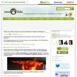 Halte aux idées reçues sur les incendies d'origine électrique