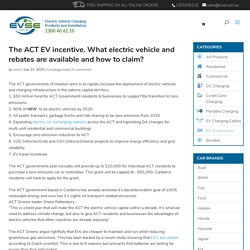 What electric vehicle and rebates are available and how to claim?