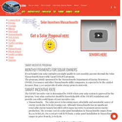 Solar Incentives Massachusetts, MA Solar Rebates