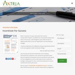 Axtria: 5 Step Guide - Incentivize For Success