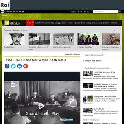 1951 - L'INCHIESTA SULLA MISERIA IN ITALIA