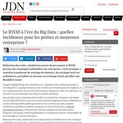 Le BYOD à l'ère du Big Data : quelles incidences pour les petites et moyennes entreprises ?