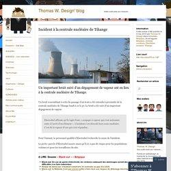 Incident à la centrale nucléaire de Tihange