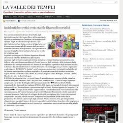 Incidenti domestici: resta stabile il tasso di mortalità - La Valle dei Templi